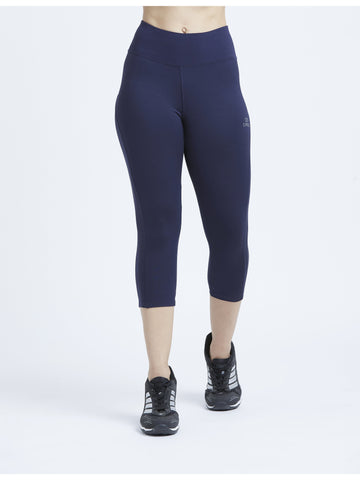True Navy Hardcore 3/4 Leggings