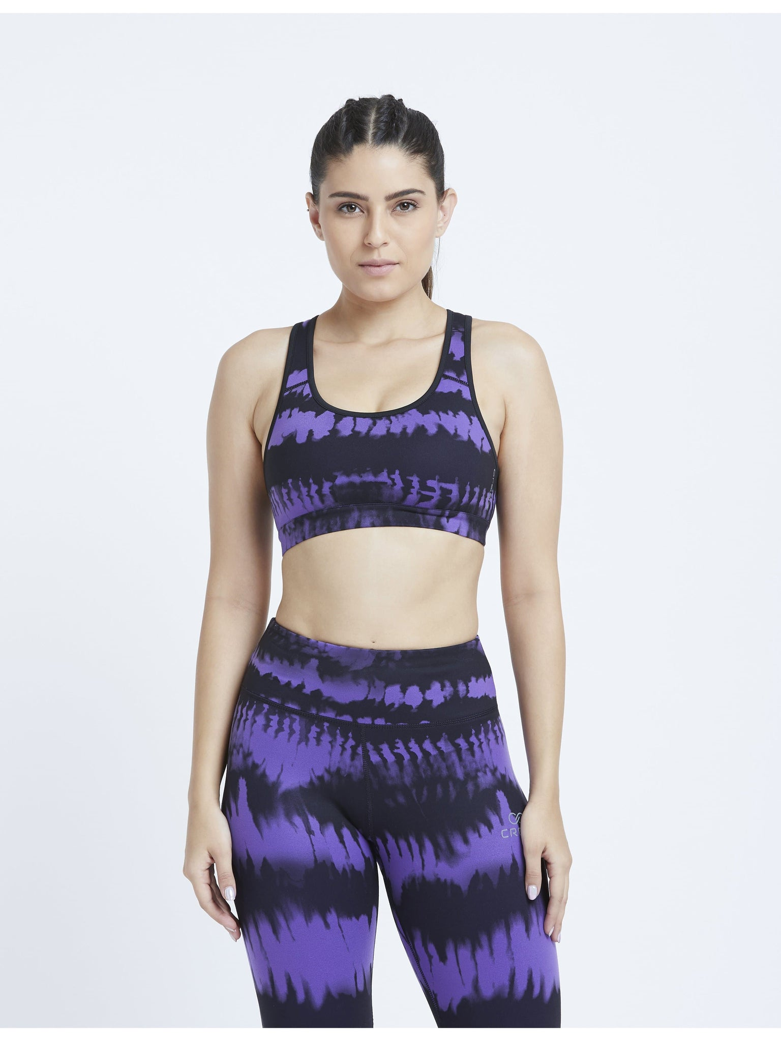 Purple Ombre Sports Bra