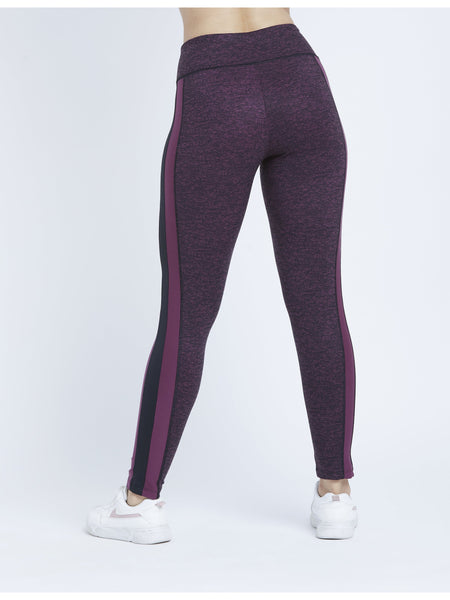 Side Paneled Marl Leggings