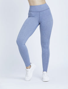 Steel Blue Marl Hardcore F/L Leggings