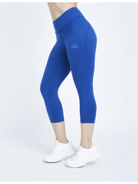Egyptian Blue Hardcore 3/4 Leggings