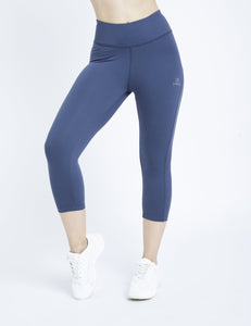 Denim Blue Hardcore 3/4 Leggings