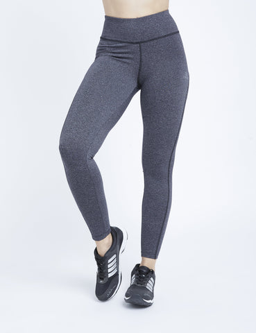 Charcoal Marl Hardcore F/L Leggings