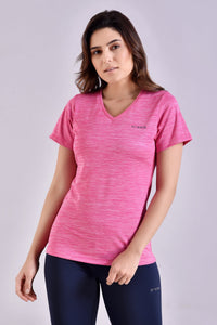 Choice Spacedye Pink Top