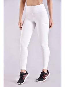 Pure White Active F/L Leggings