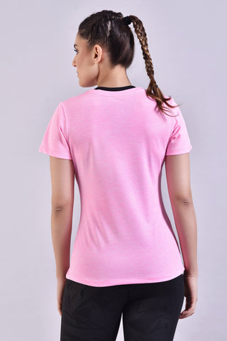 Light Pink Embossed Top