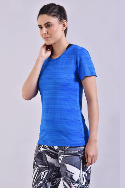 Self Stripes Stretchable Top