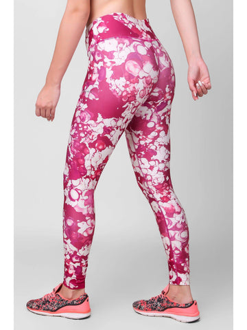 Floral Printed F/L Leggings 2