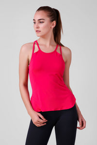 Shoulder Slit Stretchable Tank Top 3