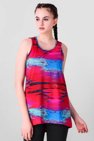 Sunset Stretchable Tank Top