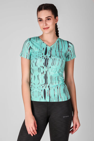 Splash Printed Top
