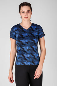 Abstract Printed Top 2