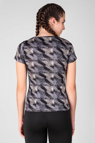 Abstract Printed Top 1