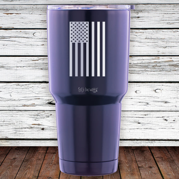 Hanging Flag 30oz Tumbler