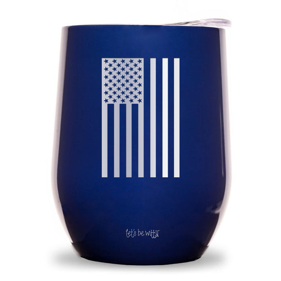 Hanging Flag Wine Tumbler