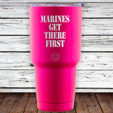 Marines Get There First 30oz Tumblr