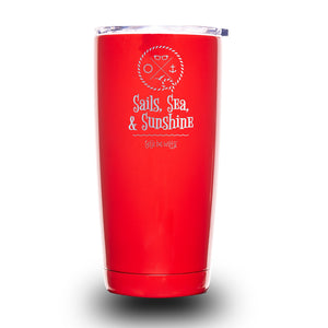 Sails, Sea, & Sunshine 20oz Tumbler