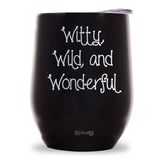 Witty, Wild, and Wonderful Wine Tumbler