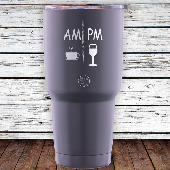 AM PM 30oz Tumbler