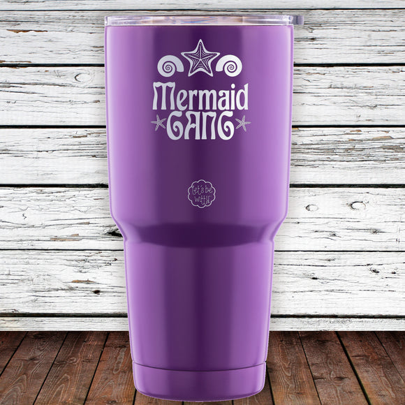 Mermaid Gang 30oz Tumblr