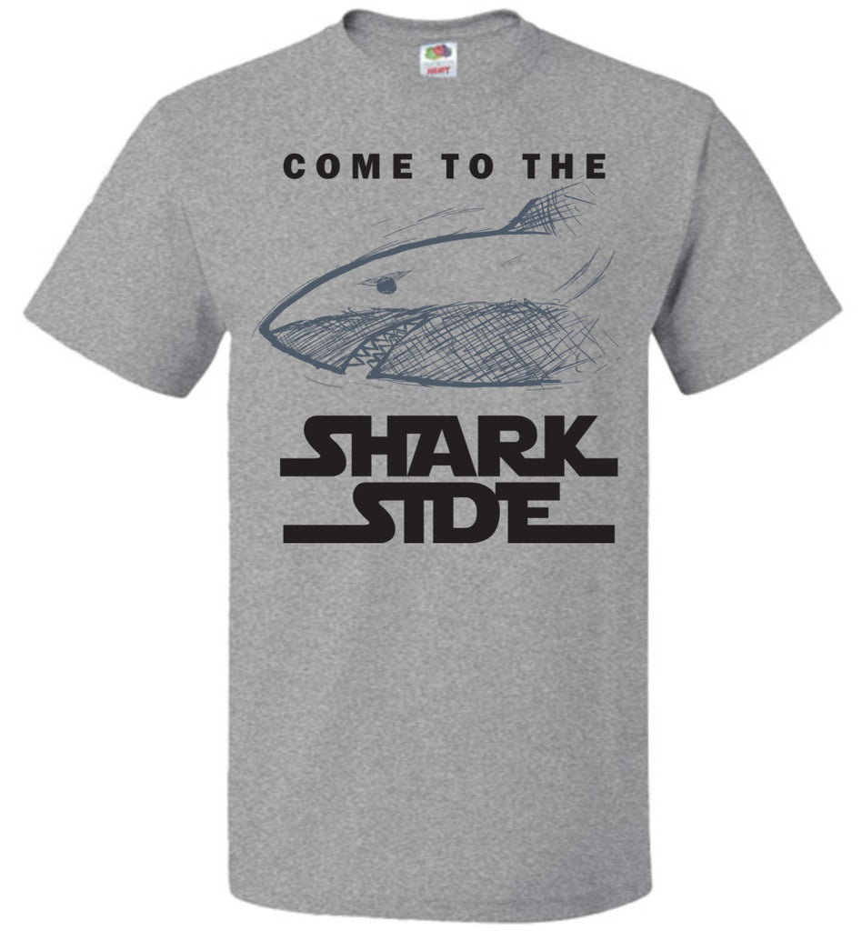 Funny Shirt Come To The Shark Side T-Shirt For Men, Women and Kids