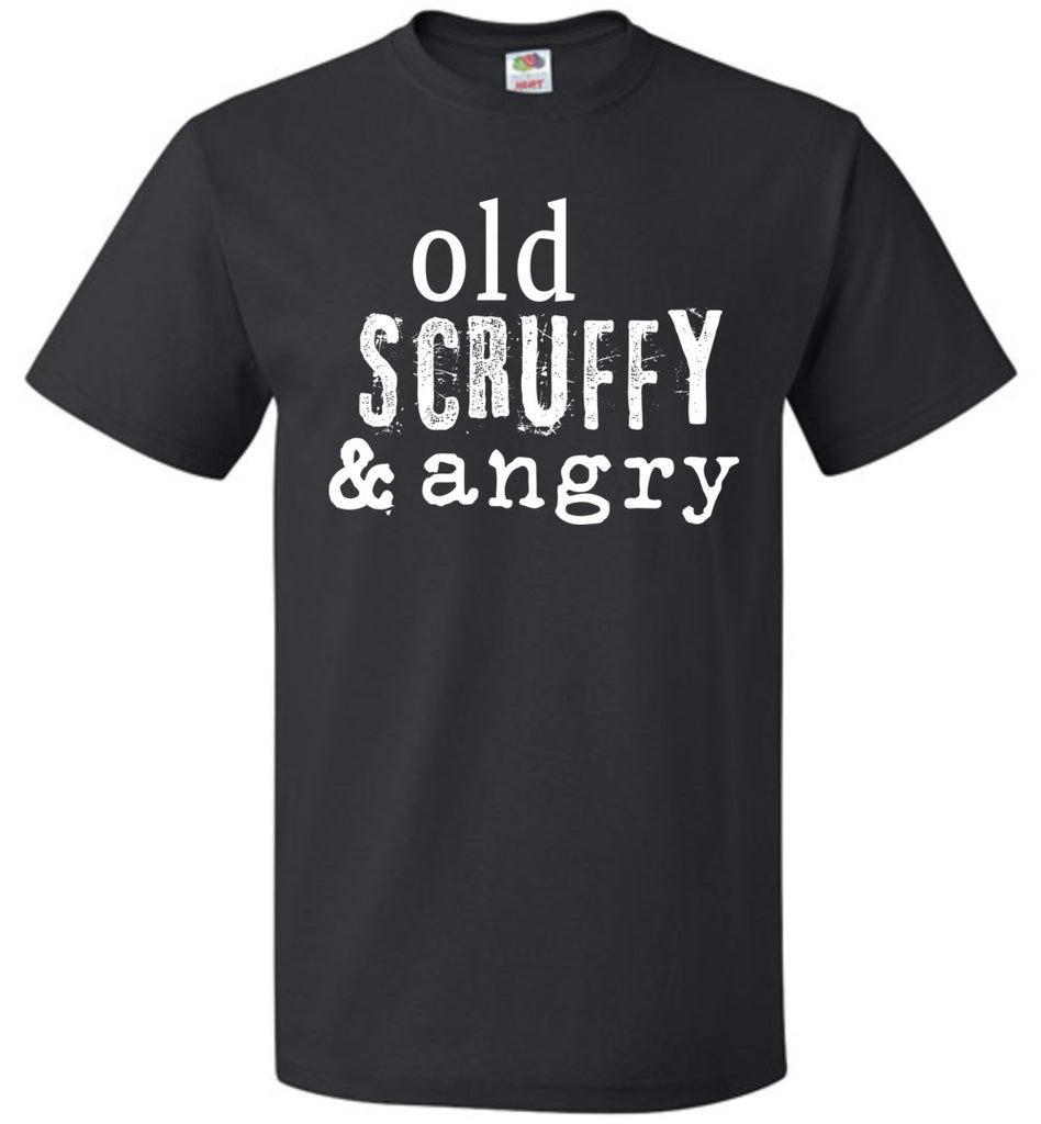 Old Scruffy and Angry Hamilton Parody Shirt Young Scrappy and Hungry T-Shirt