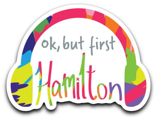 Hamilton Quotes Assorted Stickers