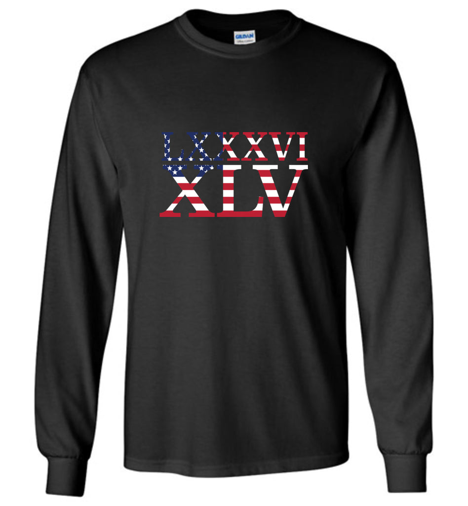 LXXXVI XLV 8645 Impeach Shirt Anti Trump Long Sleeve T-Shirt