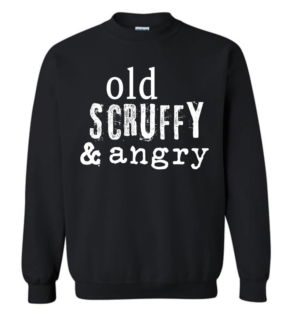 Old Scruffy and Angry Hamilton Parody Shirt Young Scrappy and Hungry Sweatshirt