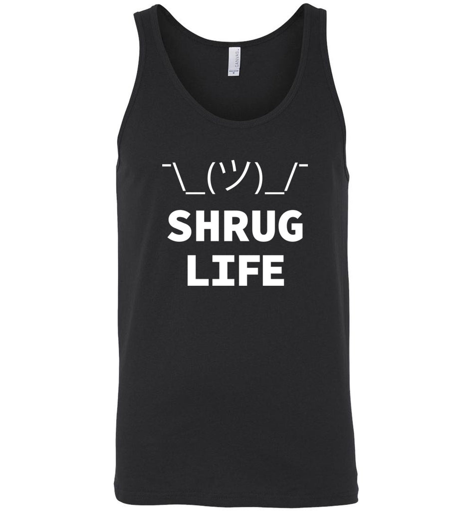 Shrug Life Geek It Worked On My Machine Shruggie Icon Tank Top