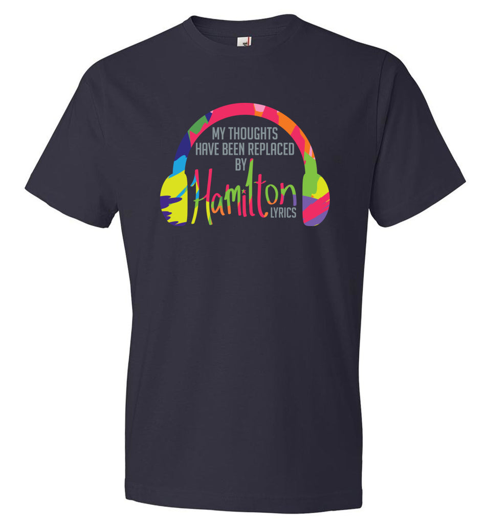 My thoughts Have Been Replaced By Hamilton Lyrics Youth T-Shirt