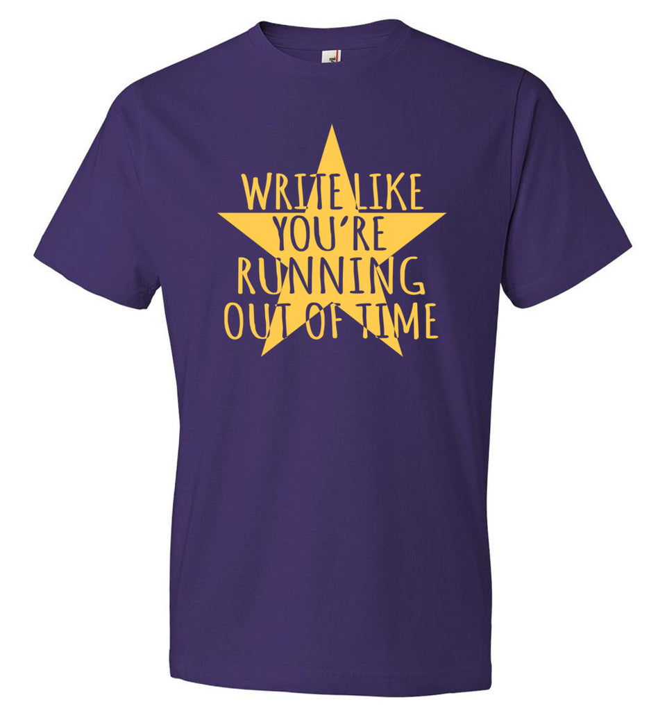 Write Like You're Running Out Of Time Hamilton Youth T-Shirt