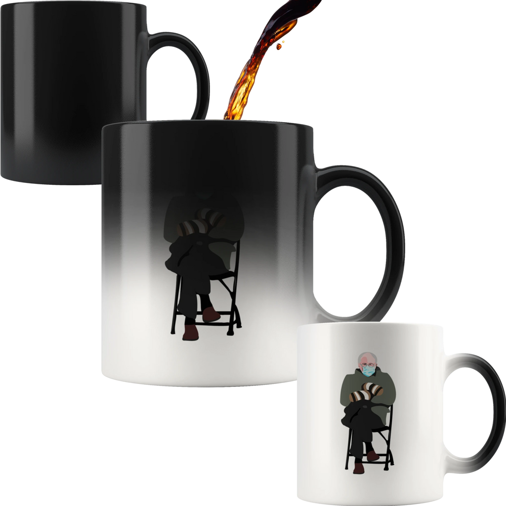 Bernie Mittens Magic Mug
