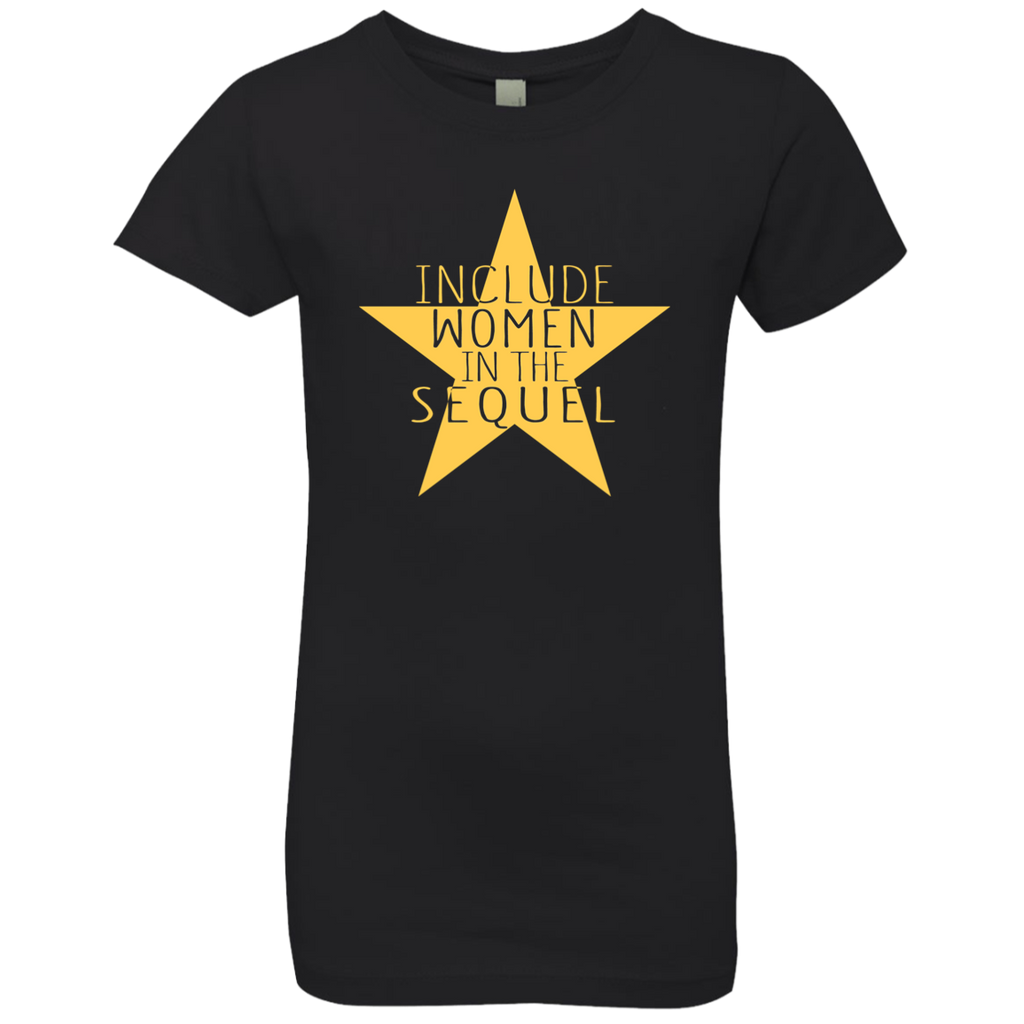 Include Women In The Sequel Hamilton Girls' Princess T-Shirt