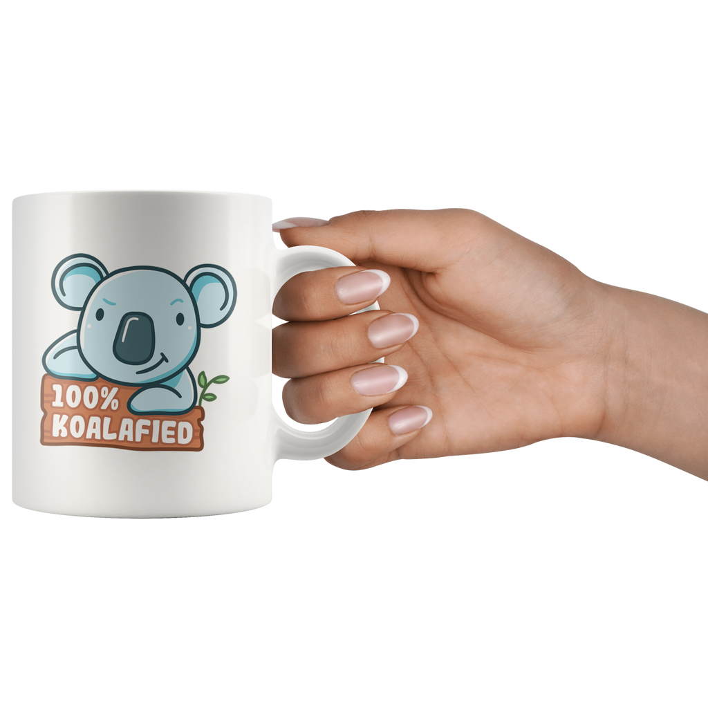 100% Koalafied Coffee Mug