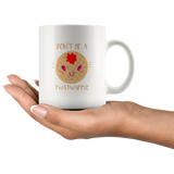 Don't be a Twatwaffle Funny Cuntasaurus Rex Rude Offensive Gift Coffee Mug