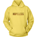 Glamorous Funny Self Deprecating Humor Hopeless Women's Hoodie