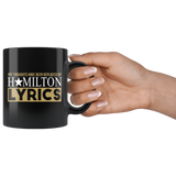Hamilton Mug My Thoughts Have Been Replaced By Hamilton Lyrics Hamilton Fans