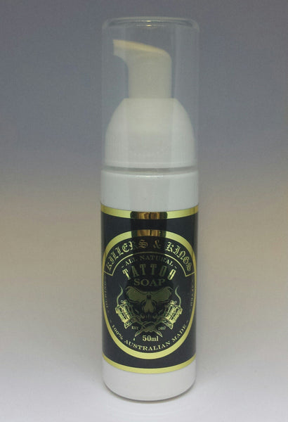 50ml Tattoo high foam soap wash Aftercare ~ wholesale options available for tattooists & studios