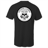 Killers and Kings tattoo balm front and rear inverted logo - AS Colour - Tall Tee T-Shirt