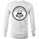 -  Killers and kings tattoo balm inverted logo - AS Colour Base - Mens Long Sleeve T-Shirt