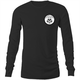Killers and Kings tattoo balm front and rear inverted logo - Sportage Hawkins - Long Sleeve T-Shirt