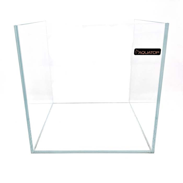 4 Gallon Low Iron Glass Aquarium (10 inch cube) - Crystal Series by Aquatop