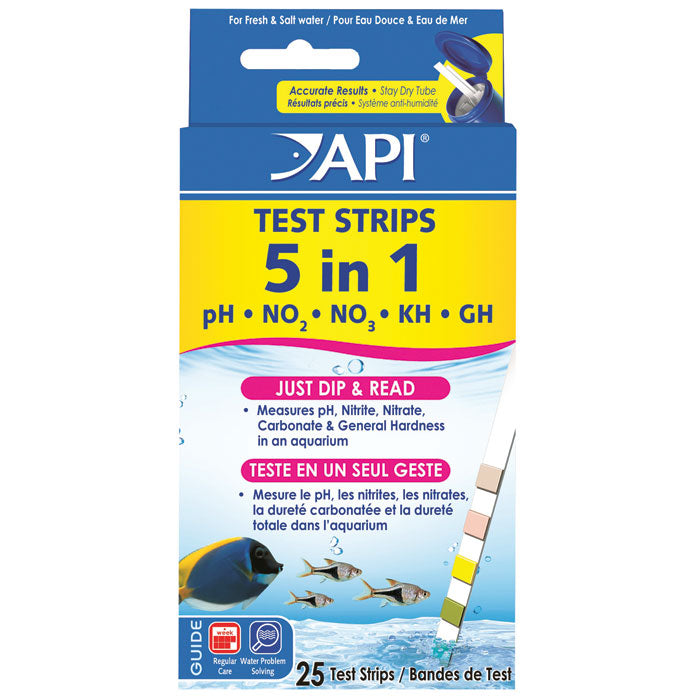 API 5 in 1 Test Kit