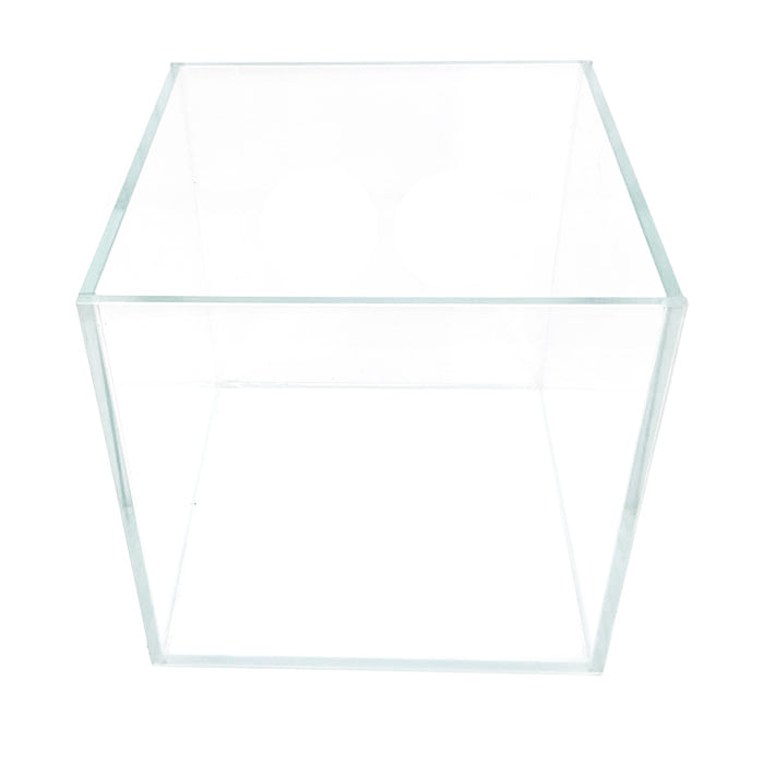 1.5 Gallon Low Iron Glass Aquarium (7 inch cube) - Crystal Series by Seapora