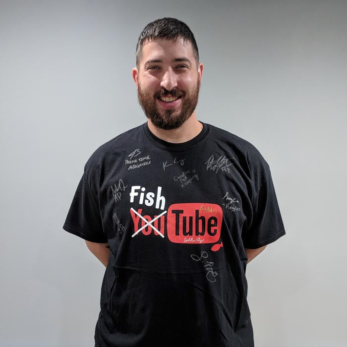 "Signed FishTube ""Aquashella 2018"" T-shirts - Limited"