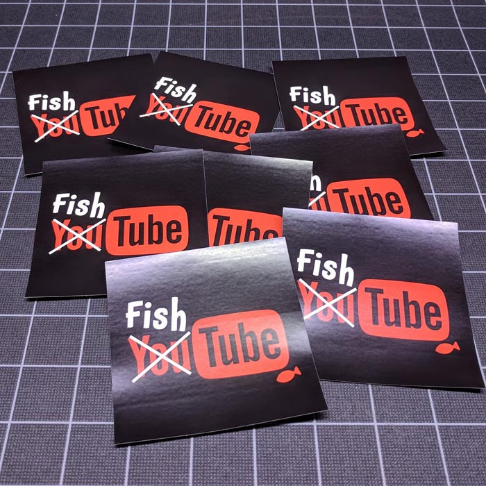 FishTube Posters and Stickers