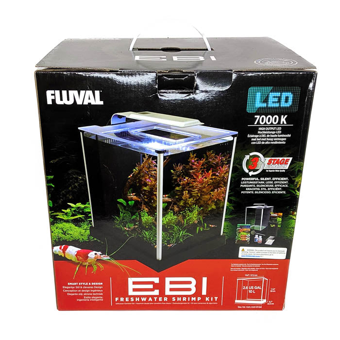 EBI Shrimp Kit by Fluval Aquatics - 2.6 Gallon