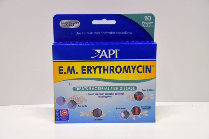 API E.M. Erythromycin - Bacterial Treatment