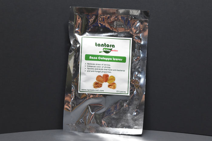 Tantora Nano Indian Almond Leaves- 15 Pack
